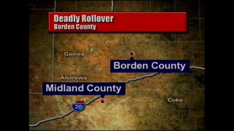 Accident in Borden County Kills One