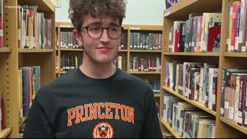 Odessa High School student receives four year scholarship to Princeton