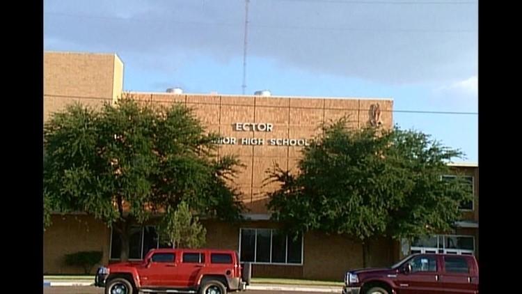 Ector Junior High Evacuated for Gas Leak
