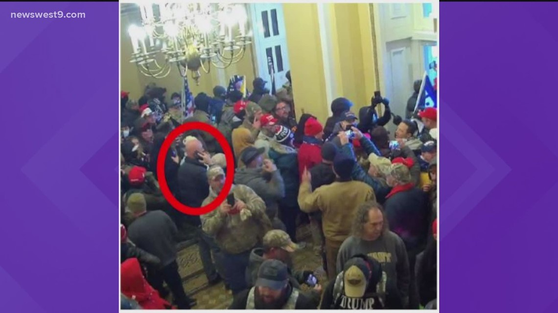 Odessa man arrested for involvement in Capitol riots