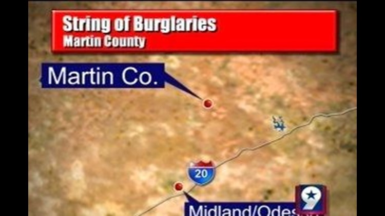 Officials Searching for Car Burglary Suspects in Martin County