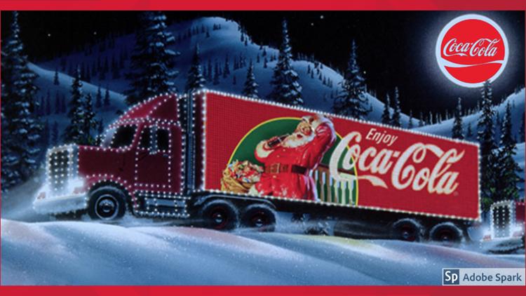 Coca Cola Holiday Caravan Comes To Midland And Odessa Newswest9 Com