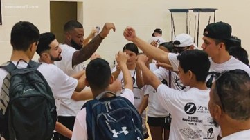 Basketball camp starts program to feed West Texas