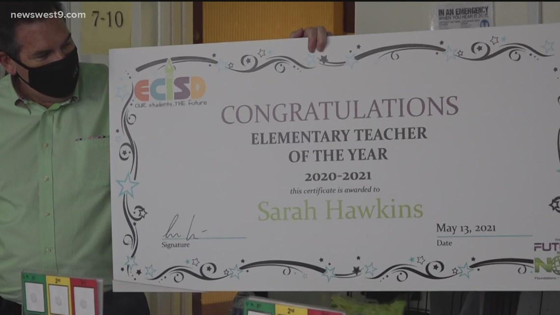 ECISD honors 2 teachers with Teacher of the Year awards