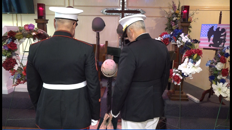 'Why wasn't it me?': Marine Corps veteran shares his story