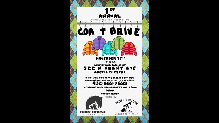 Sharing God's Love One Coat at a Time drive to begin Nov. 17