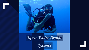 Get your scuba certification this weekend