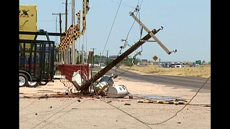 Crash Knocks Out Power for About 140 Customers in Ector County