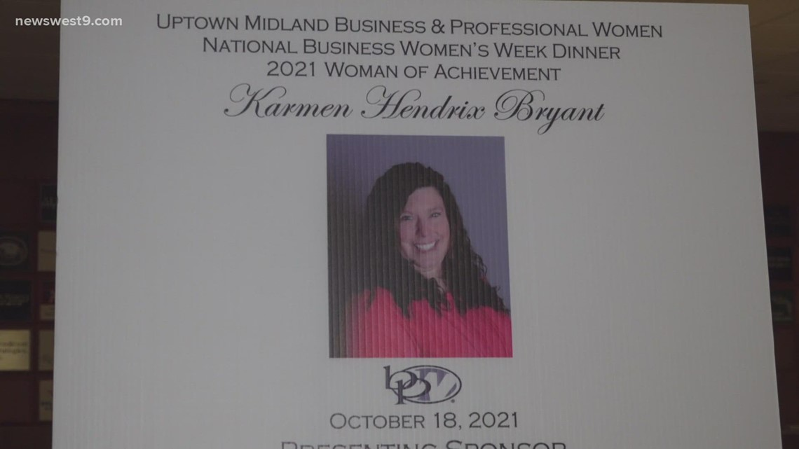 Uptown Midland Business and Professional Women honor 2021 Woman of Achievement