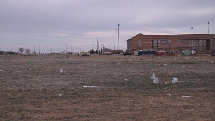 Trash, Litter Invading Midland