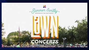 Summer Sunday Lawn Concerts return to Museum of the Southwest