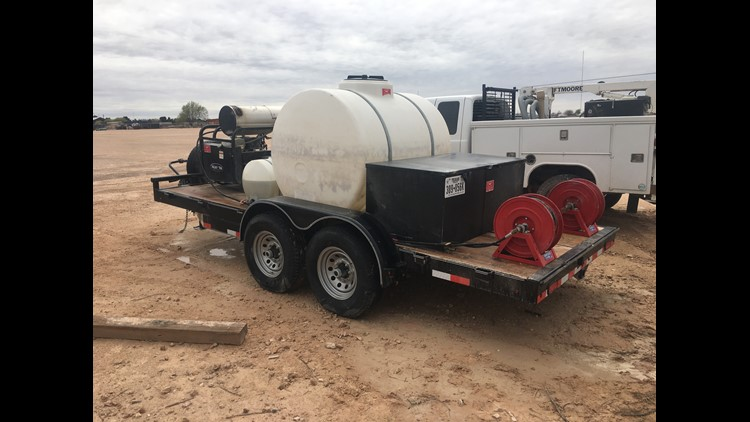 Midland Crime Stoppers offering $1,000 for tips on a stolen wash trailer