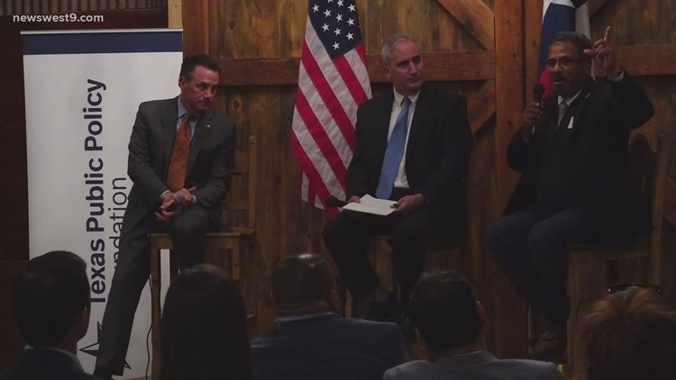 Midland Mayor Patrick Payton and Odessa Mayor Javier Joven discuss future plans for the Permian Basin