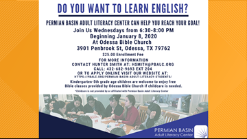 Learn English with the Permian Basin Adult Literacy Center