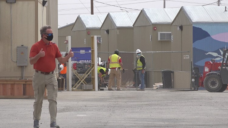 Migrant teens spend first full day in Pecos