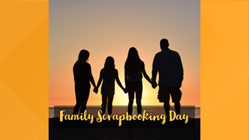 Make memories with Family Scrapbooking Day