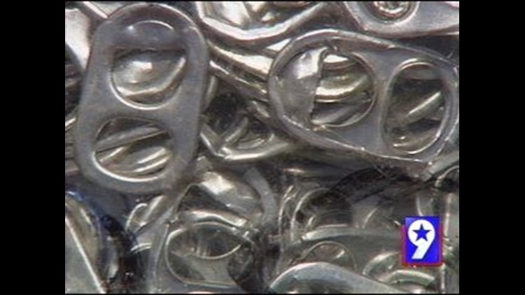 Collecting Soda Tabs for Homes