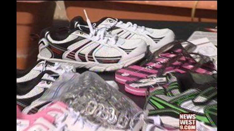 Greenwood Miracle Child Collects Shoes for Birthday