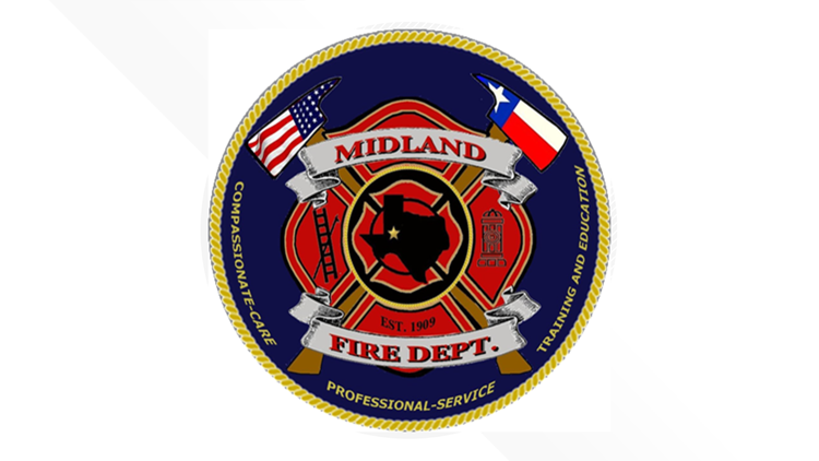 Midland Fire Department holding poster contest