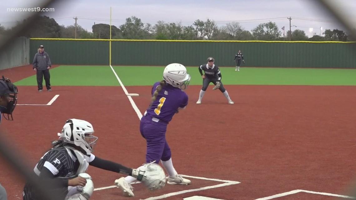 Midland High softball vs Permian