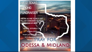Odessa car wash to host fundraiser for shooting victims