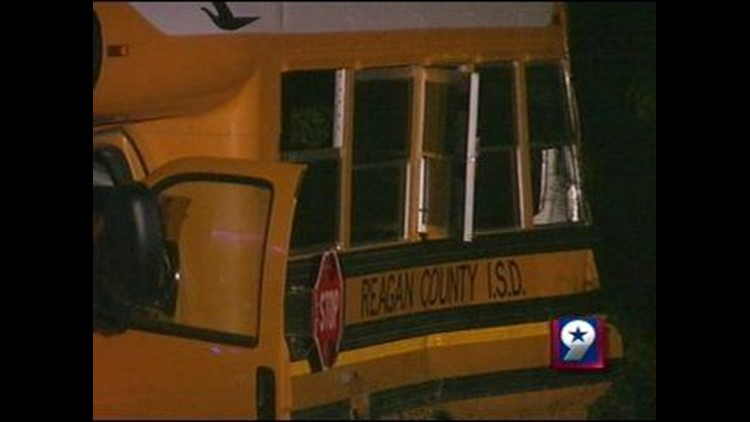 New Details Released in Connection with School Bus Accident in Reagan County