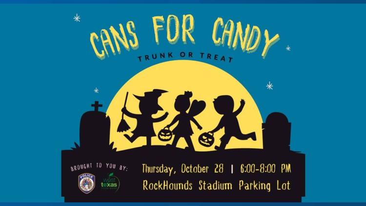 MPD to hold trunk or treat event to benefit the West Texas Food Bank