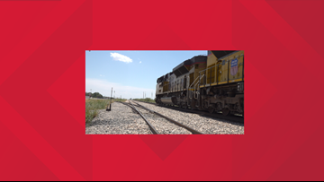 Local police and Union Pacific officials working together to prevent train-involved accidents