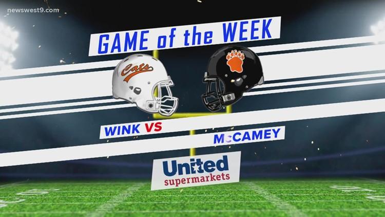 Week 8 | Wink vs. McCamey