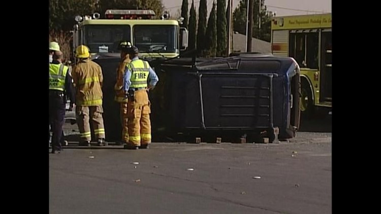 One Person Sent to the Hospital After Accident in Midland