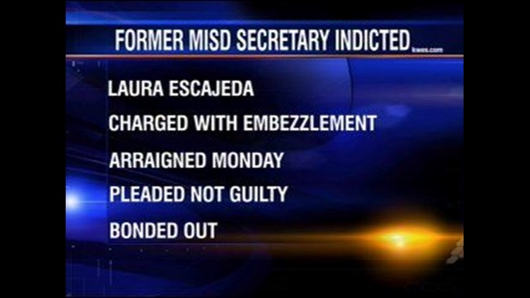 Former MISD Employee Pleads Not Guilty to Embezzlement Charges