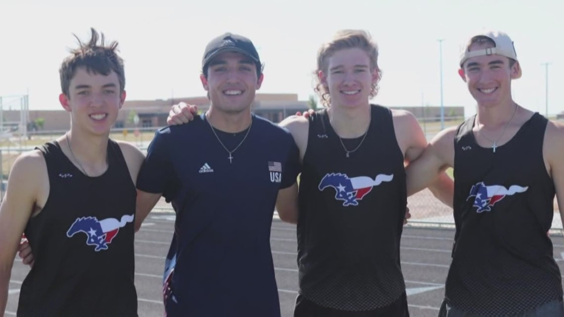 Midland Christian runner breaks school record