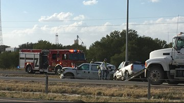 TRAFFIC ALERT: Crash causes backup on I-20 near Loop 250