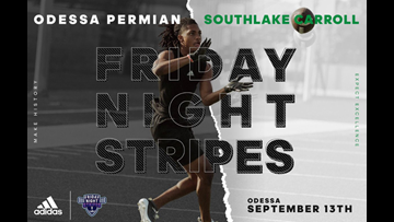 Permian featured in Adidas Friday Night Stripes game