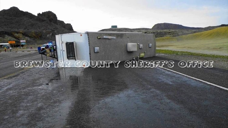Storms Pound Brewster County