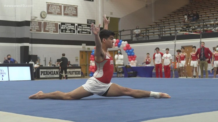 Permian and Odessa High gymnasts qualify for state meet