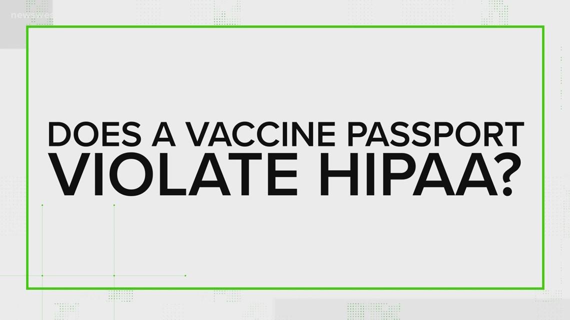 Do vaccine passports violate HIPAA laws? | Verify