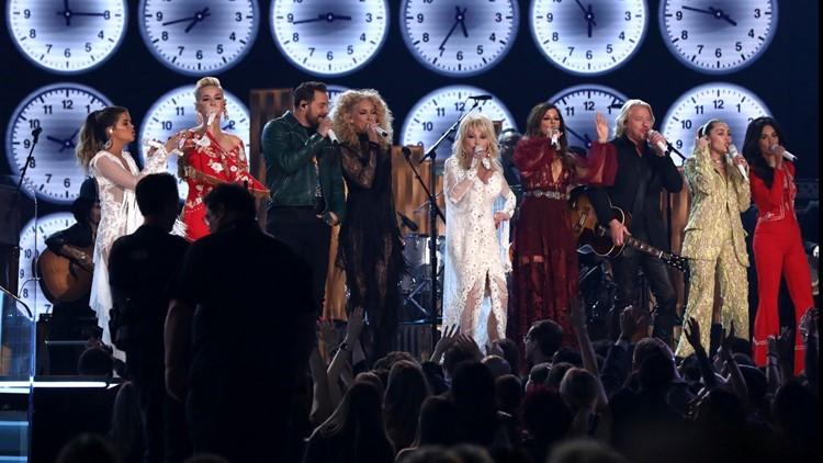 Dolly Parton honored in Grammys tribute