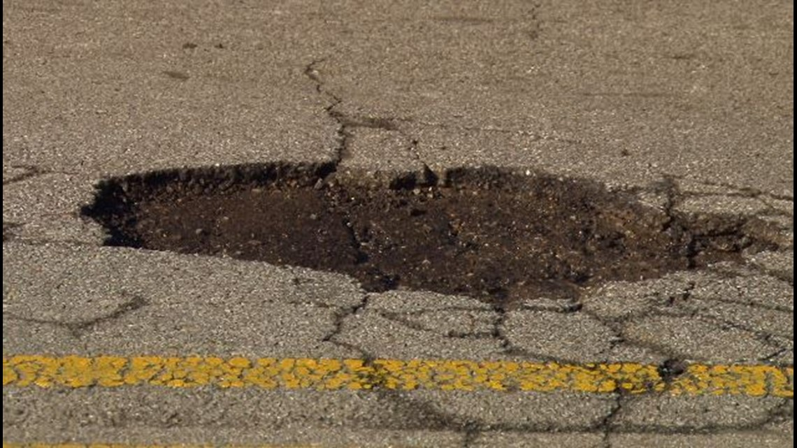 Have potholes to report? Here's how to contact your city and county officials