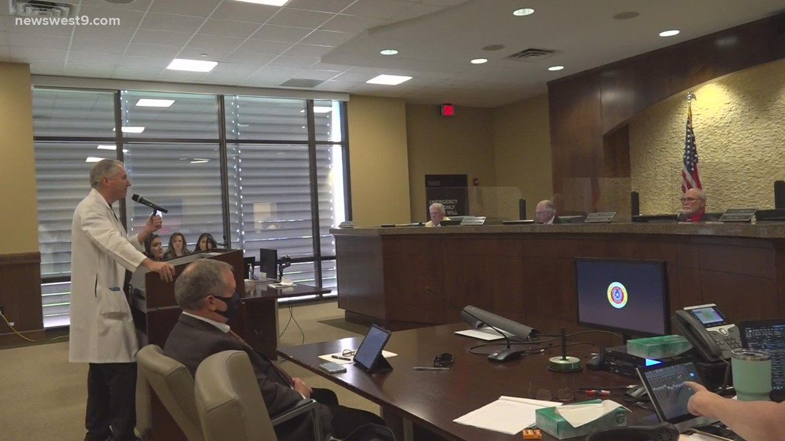 Midland County Commissioners approve over $2.3 million for Midland Memorial Hospital