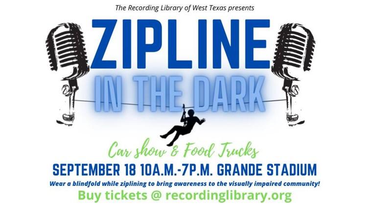 Zipline event brings awareness to visually impaired community