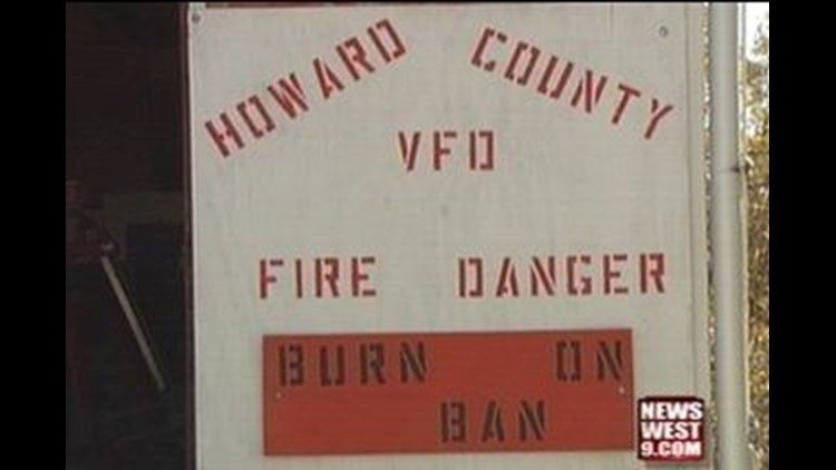 Firefighters in Howard County on High Alert But They Have Extra Help
