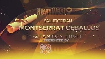 Montserrat Ceballos - Salutatorian of Stanton High