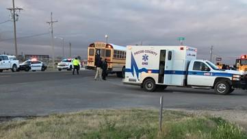 Minor injuries following school bus crash in Fort Stockton
