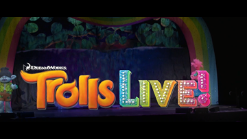 TROLLS LIVE! TICKET GIVEAWAY