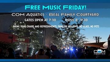 COM Aquatics hosts Free Music Fridays