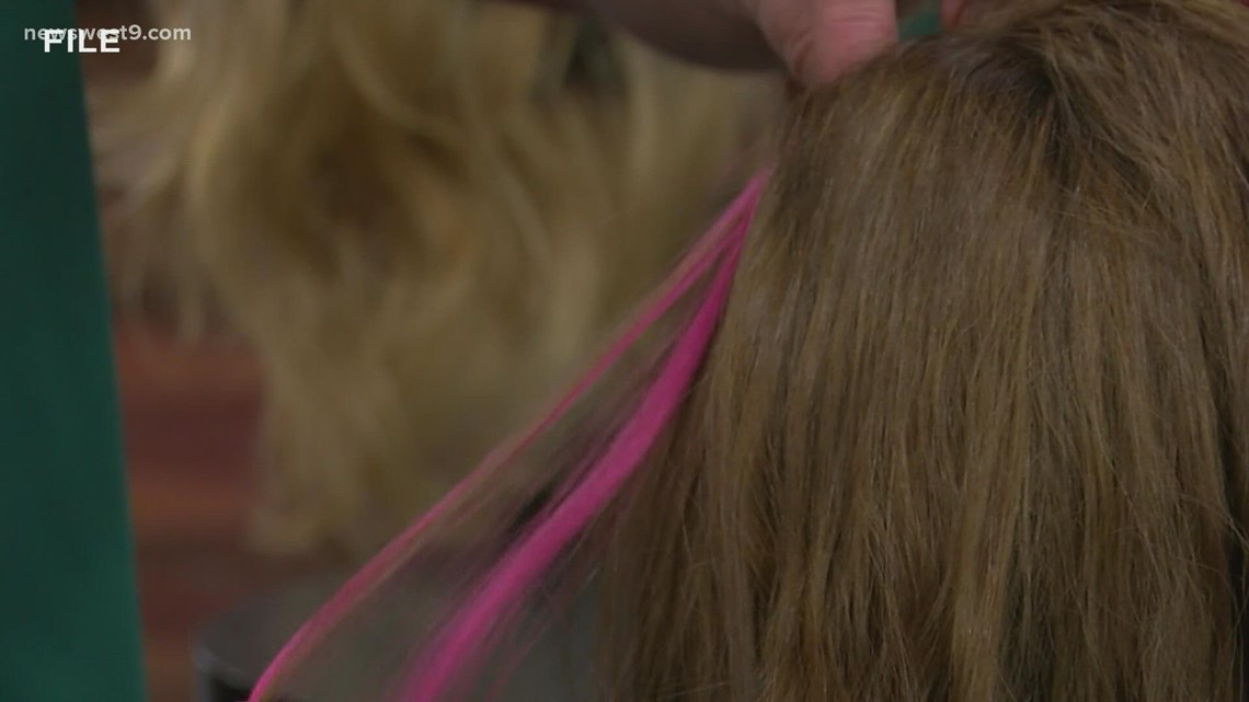 Midland College offers pink hair extensions to support Breast Cancer Awareness Month