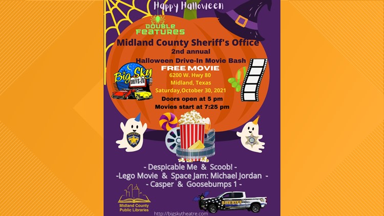MCSO to hold second annual Halloween Drive-In Movie Bash