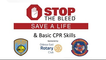 "Odessa agencies offer free ""Stop the Bleed"" classes"