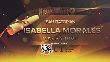 Isabella Morales - Salutatorian of Marfa High